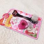 ダイソー  100円の洗顔用ブラシ ハートdeフェイスブラシが結構いい感じ♪