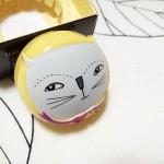 猫の可愛いケース♪ too cool for schoolのMax In Pocket(マックスインポケット)リップグロス#3ドーリードーリー