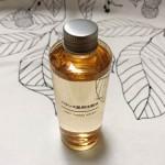 混合肌のお肌でも程よく整うような化粧水。無印良品 バランス肌用化粧水は柑橘系の良い香り♪